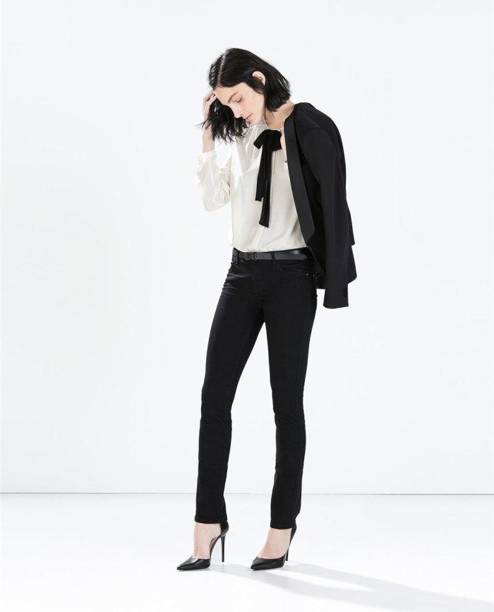 Pode ser este look total da Zara