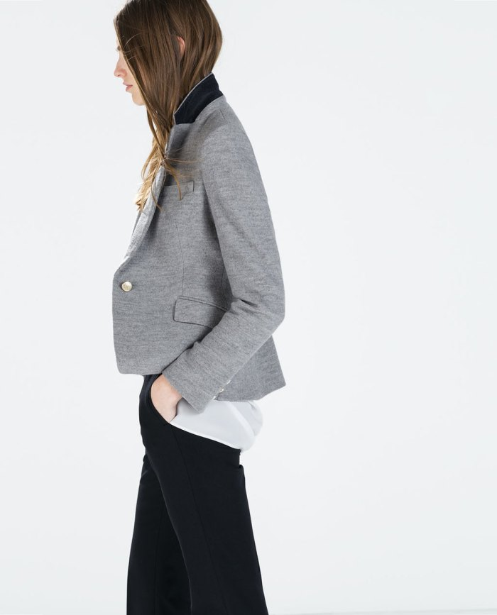 Blazer estruturado da Zara