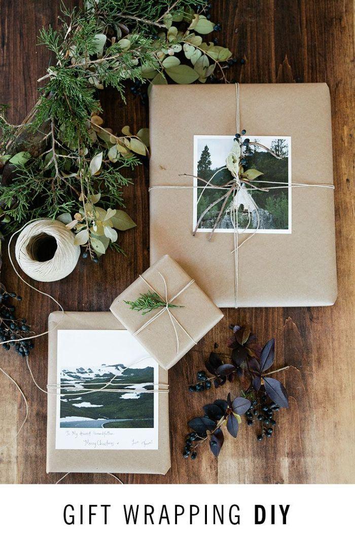 Via Artifactupising, uma ideia ainda mais emocional: adicionar uma foto especial para a pessoa que vai receber o presente, ou já uma dica do que pode estar lá dentro.