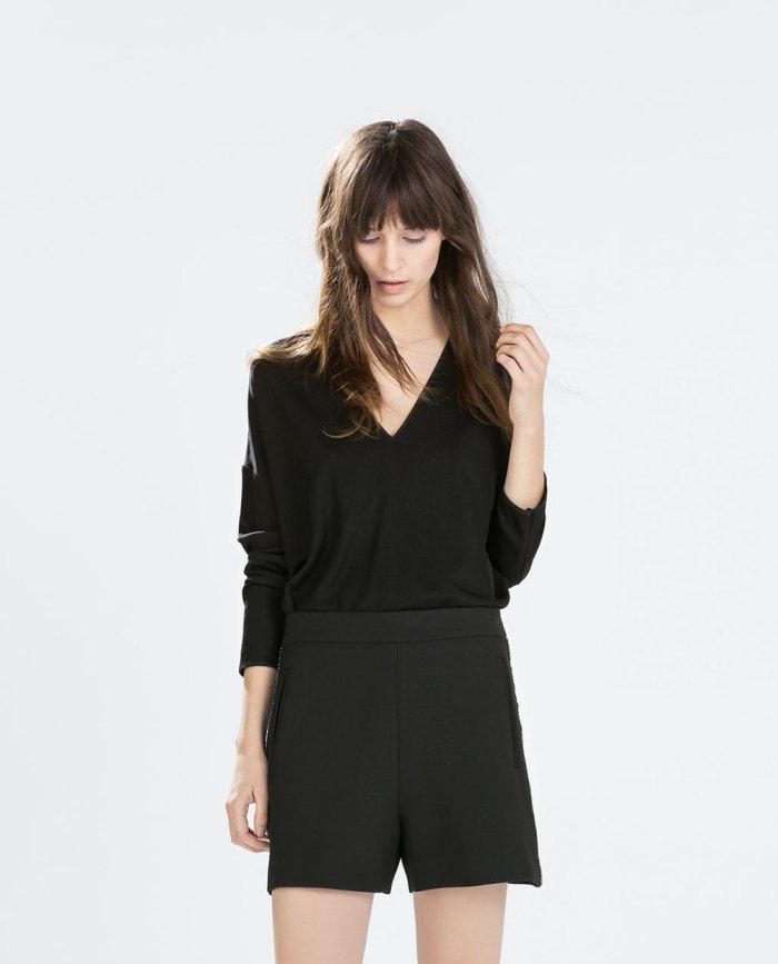 O novo fato de trabalho: calções e camisa via Zara