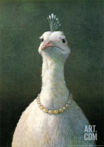 Fowl with pearls - 16,99€