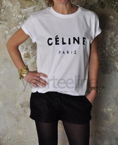 Céline Paris t-shirt da yourteeline