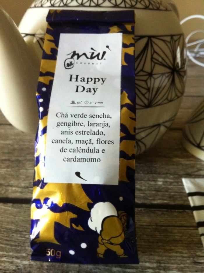 Dias felizes, é o que se quer, e com estes ingredientes, vai ser mesmo perfeito. Grande presente dos meus amigos Mafalda e Tiago.